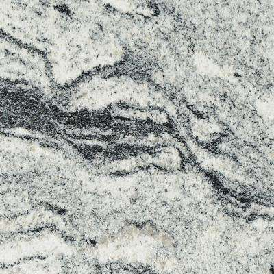 3 in. x 3 in. Granite Countertop Sample in Silver Cloud