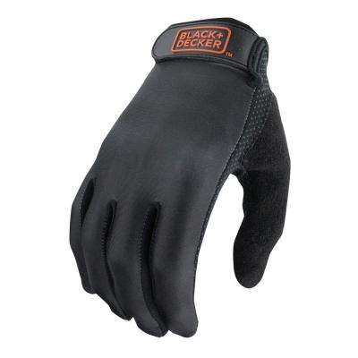 Men's Large Black High Dexterity All-Purpose Glove