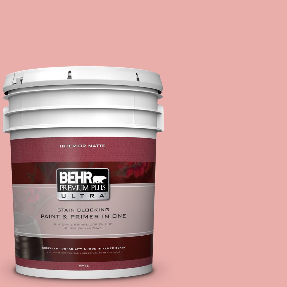 BEHR Premium Plus Ultra 5 gal. #M160-3 Sweet Tart Matte Interior ...