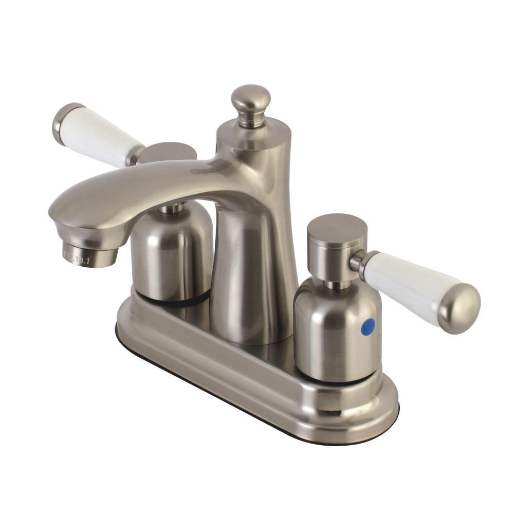 Kingston Brass Paris 4 in. Centerset 2-Handle Bathroom Faucet in ...