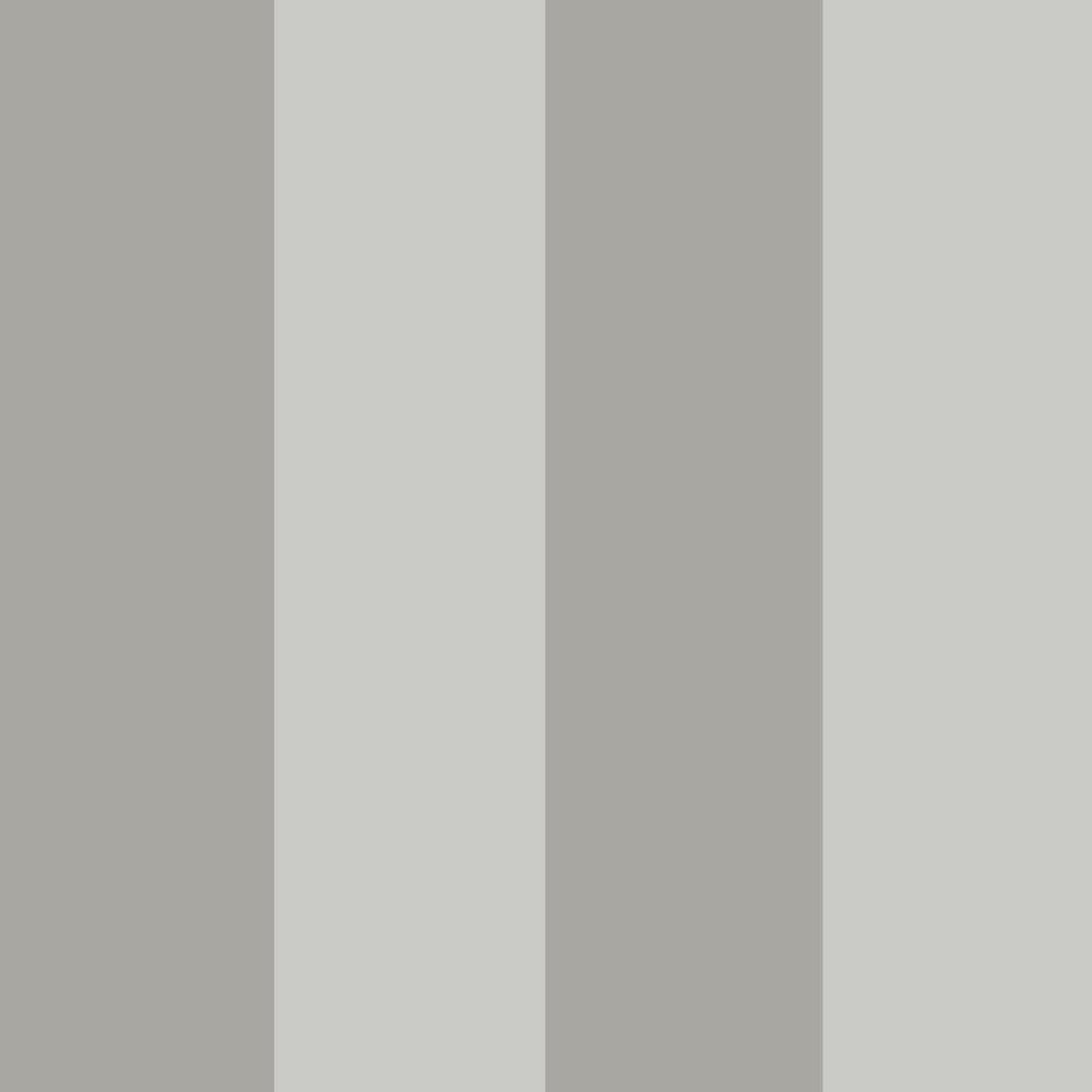 Tempaper Stripe Dove Grey Self Adhesive Removable