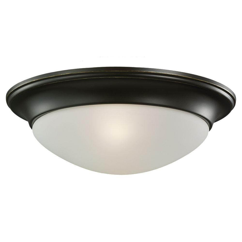 Sea Gull Lighting 1-Light Ceiling Heirloom Bronze