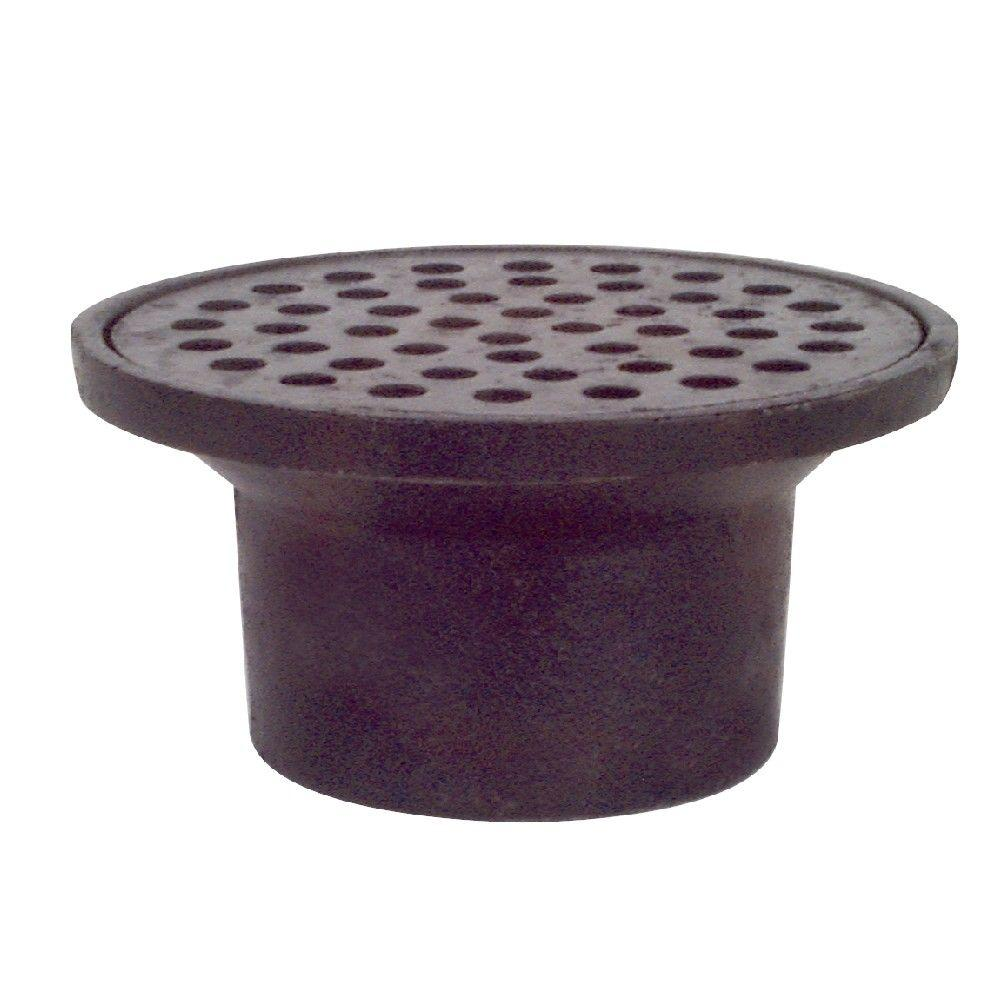 2 In Cast Iron St Louis Style Floor Drain With 4 3 4 In