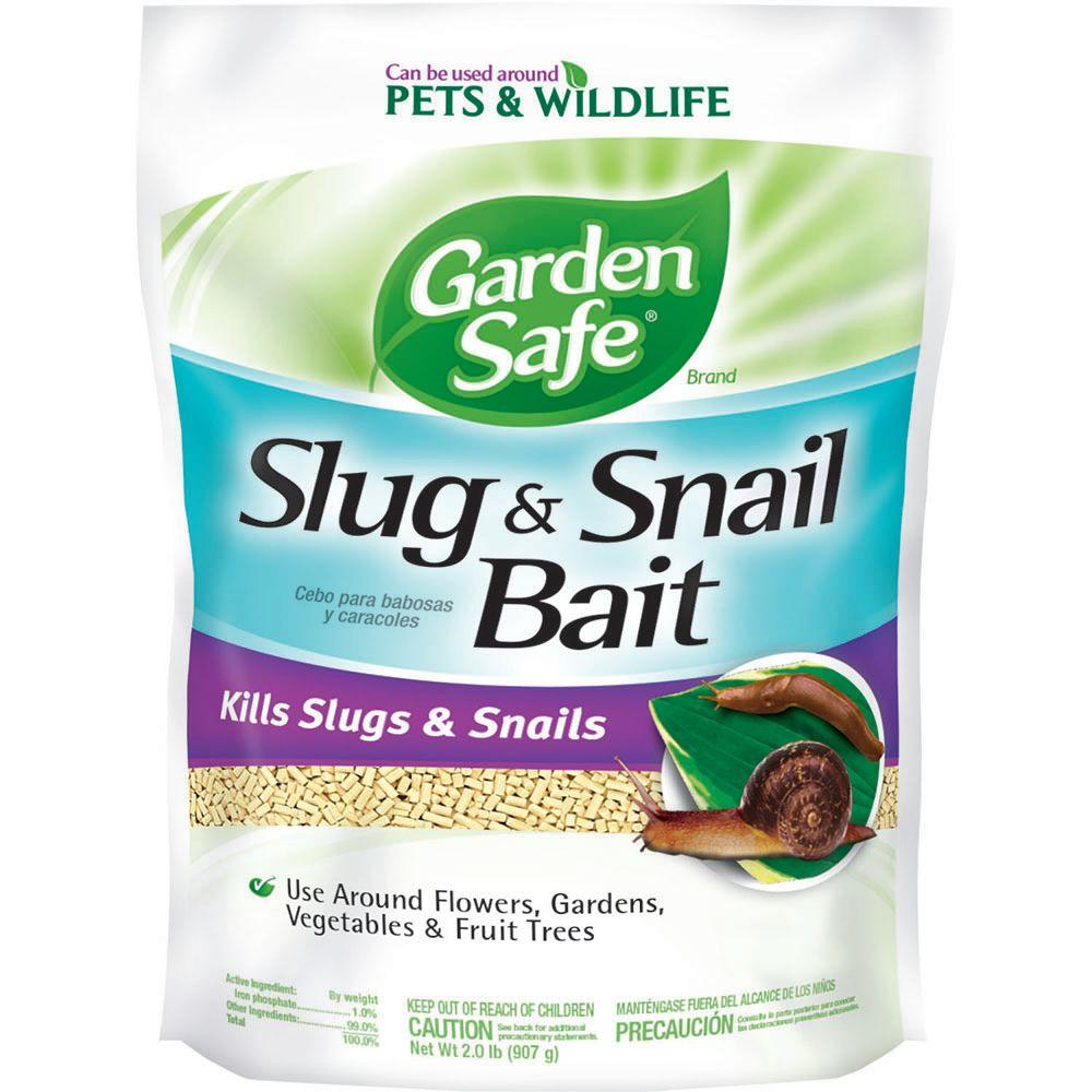 Garden Safe 2 lb. Ready-to-Use Slug and Snail Bait