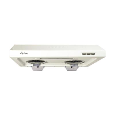 680 CFM Round/Rectangular Duct Opening, 30 in. Under Cabinet Range Hood, Filterless Technology, Easy Clean, White