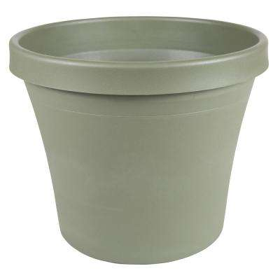 14 x 12.75 Living Green Terra Plastic Planter