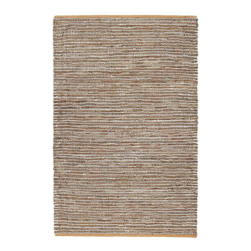 North and Damen Tan 8 ft. x 10 ft. Area Rug