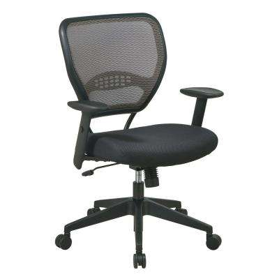Deluxe Black AirGrid Back Manager Office Chair