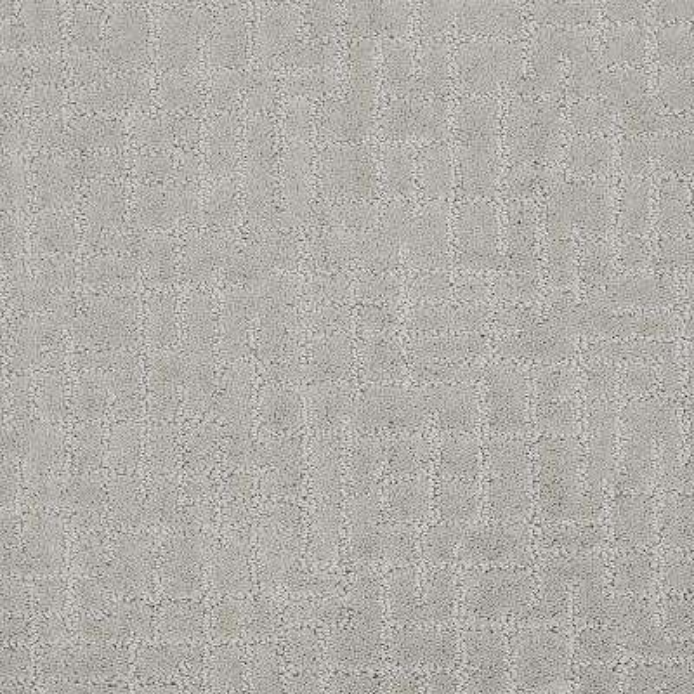 Carpet Sample - Latice - Color Evening Mist Pattern 8 in. x 8 in.