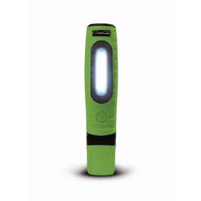 Rechargeable 360-Degree Double Pro Work Light and Torch, Green