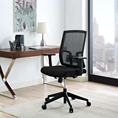 Progress Mesh Office Chair in Black
