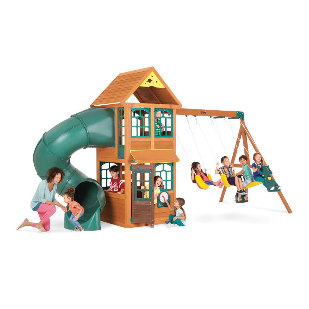 KidKraft Cloverdale Wooden Swing Set