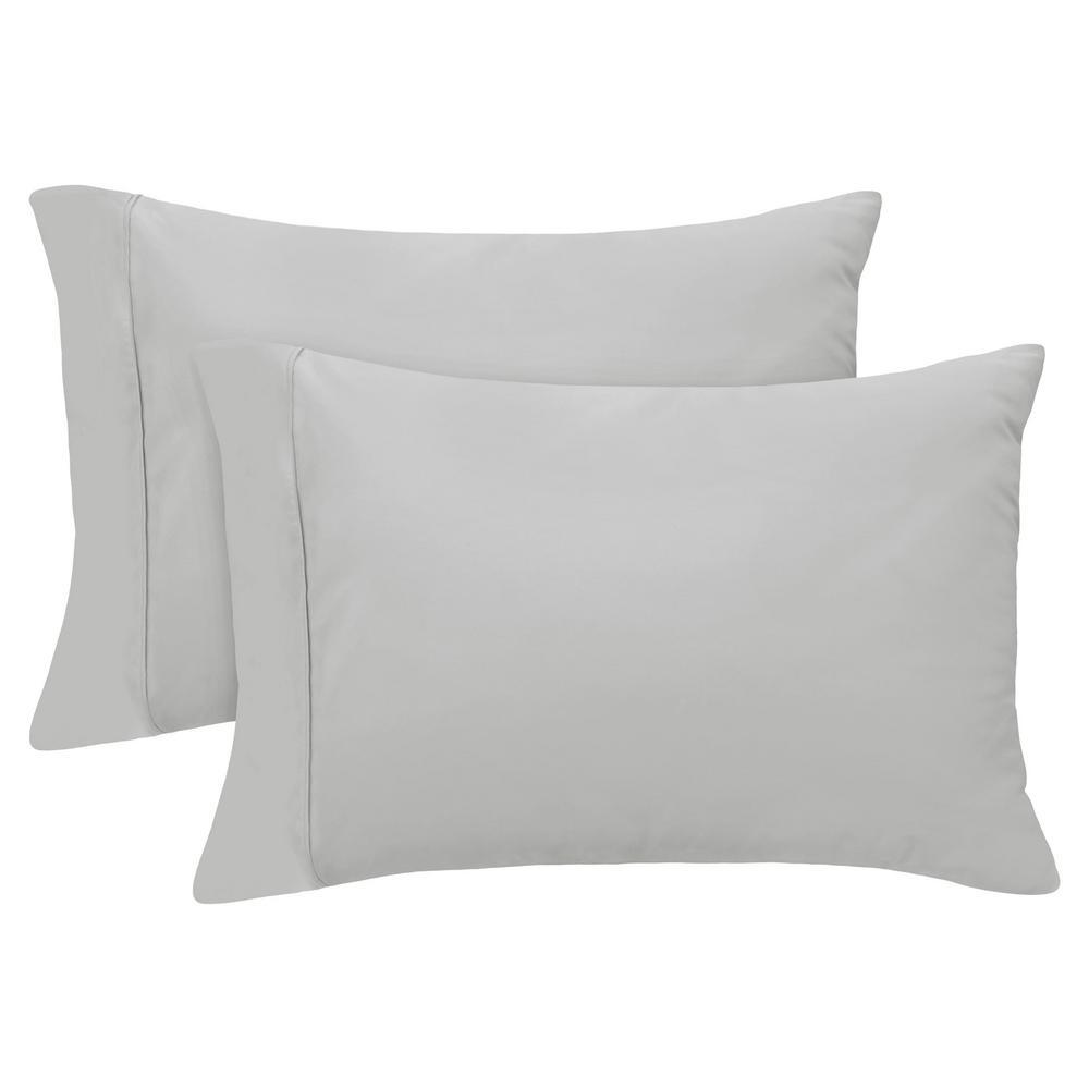 Undefined Standard Platinum 400 Thread Count Cotton Rich Pillowcase Set
