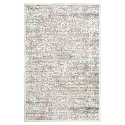 Fables Gray 7 ft. 6 in. x 9 ft. 6 in. Medallion Rectangle Rug
