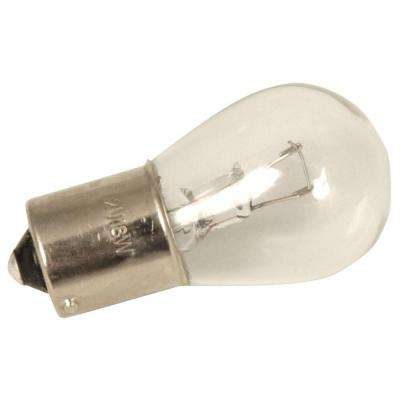 18-Watt Clear Glass B-15 Bayonet Base Replacement Light Bulb (2-Pack)