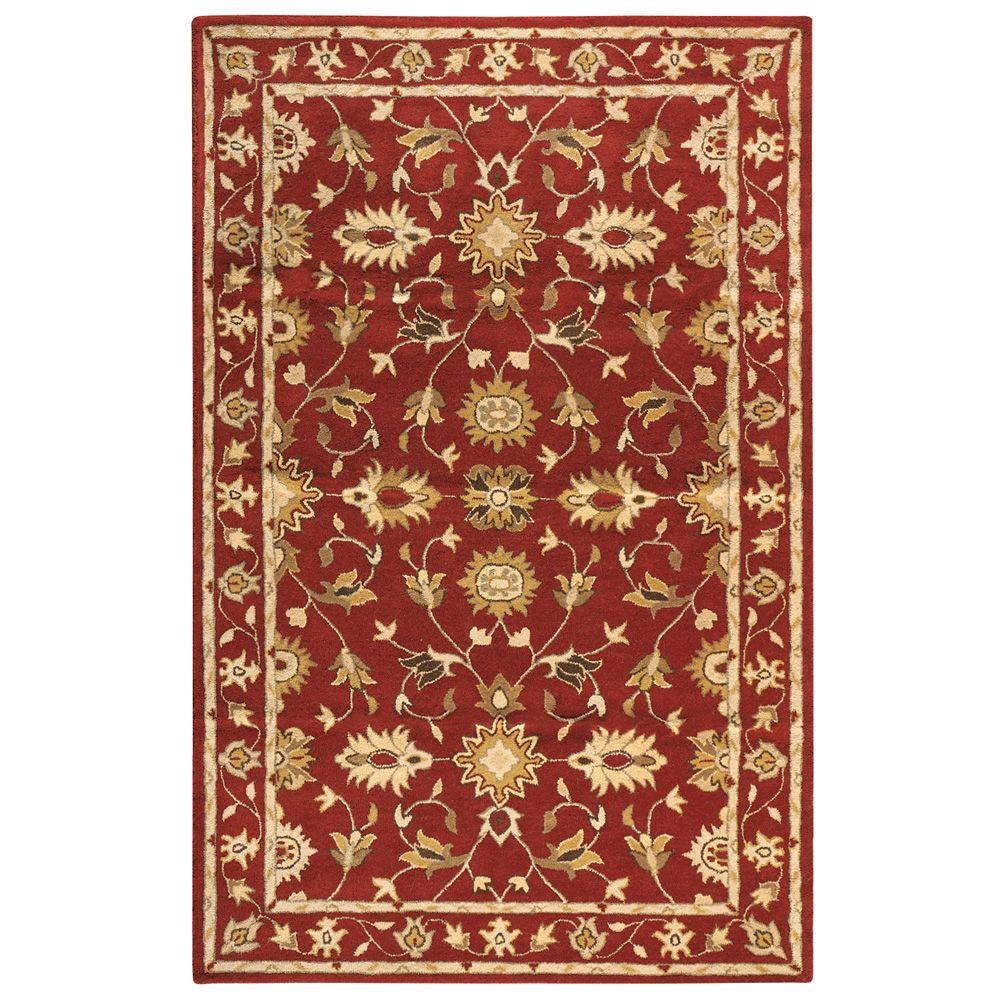 Home Decorators Collection Thornbury Red 8 ft. x 11 ft. Area Rug
