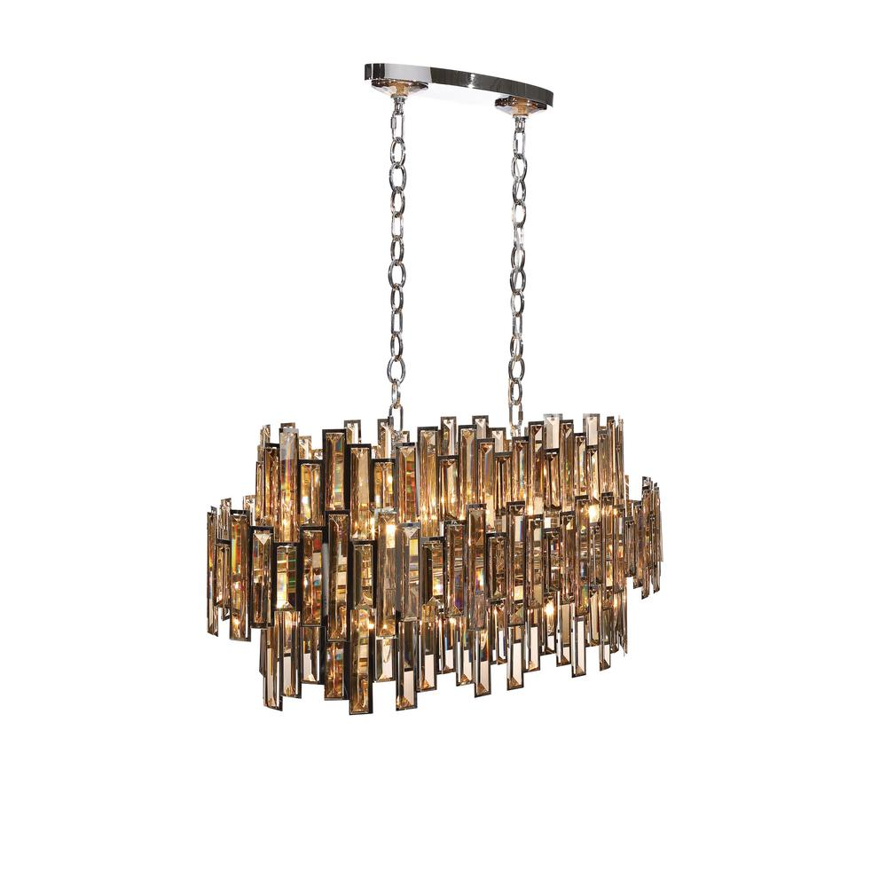 Eurofase vienna collection 16 light chrome chandelier with crystal eurofase vienna collection 16 light chrome chandelier with crystal shade arubaitofo Images