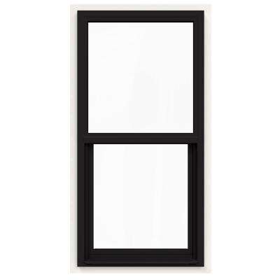 24 In X 48 V 4500 Series Black Painted Single Hung