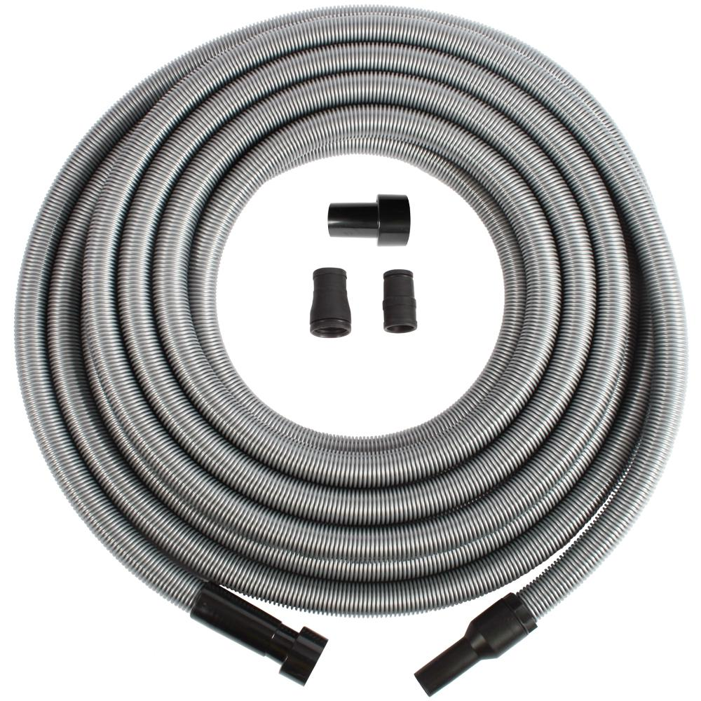 Cen-Tec Shop Vacuum Hose and Swivel Adapter with Power Tool Adapter Set for Wet/Dry Vacs