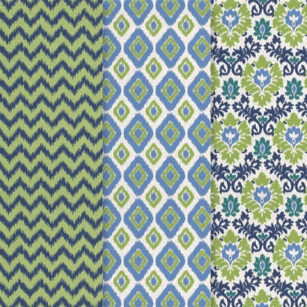 12 in. x 16 in. Decou-Page Paper Ikat (3-Pack)