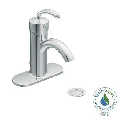 Icon Single Hole Single-Handle Low-Arc Lavatory Faucet in Chrome
