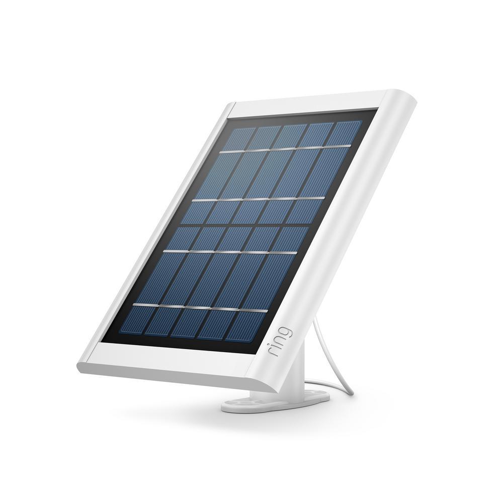 Solar Panel for Spotlight Cam Battery and Stick Up Cam, White