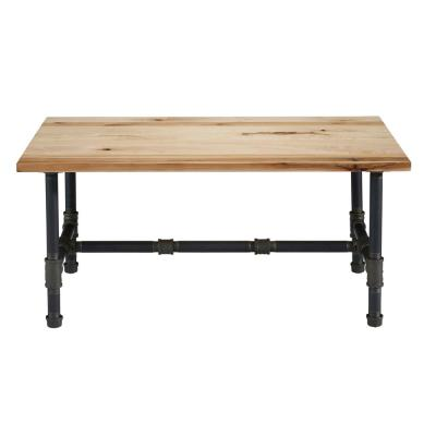 Aspen Natural Rustic Maple Coffee Table