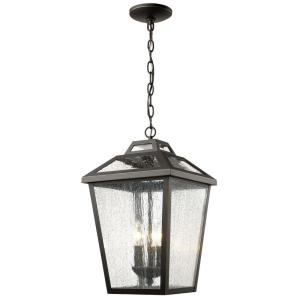 Filament Design Wilkins 3-Light Oil-Rubbed Bronze Outdoor Hanging Lantern by Filament Design