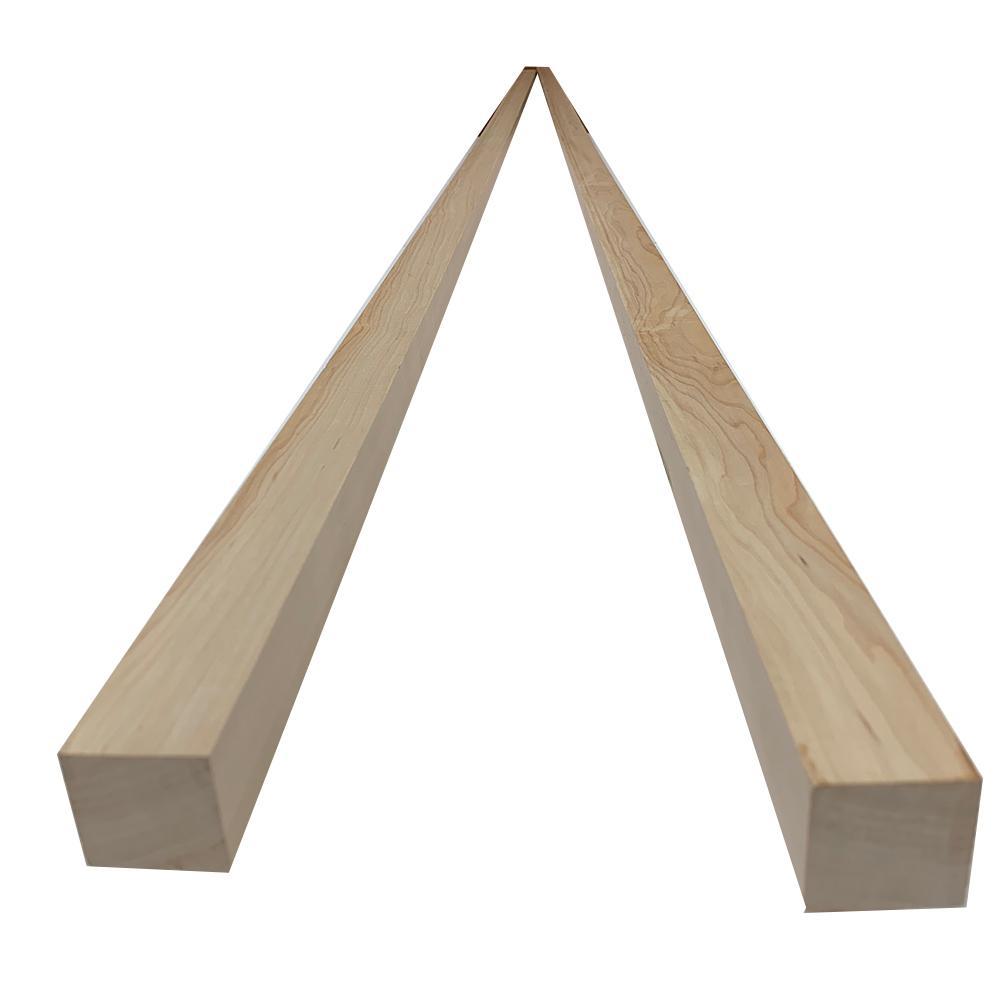 2 in. x 2 in. x 8 ft. Maple S4S Board (2-Pack)