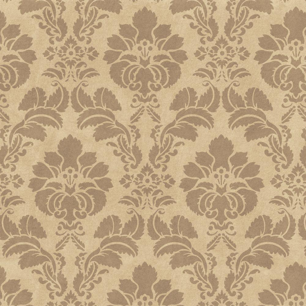 Stencil Ease Floral Damask Wall And Floor Stencil Swp0070