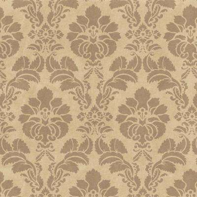 Floral Damask Wall and Floor Stencil