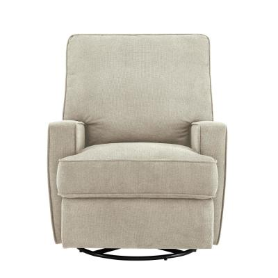 Newton Upholstered with Shell Glider Swivel Rocker Chair