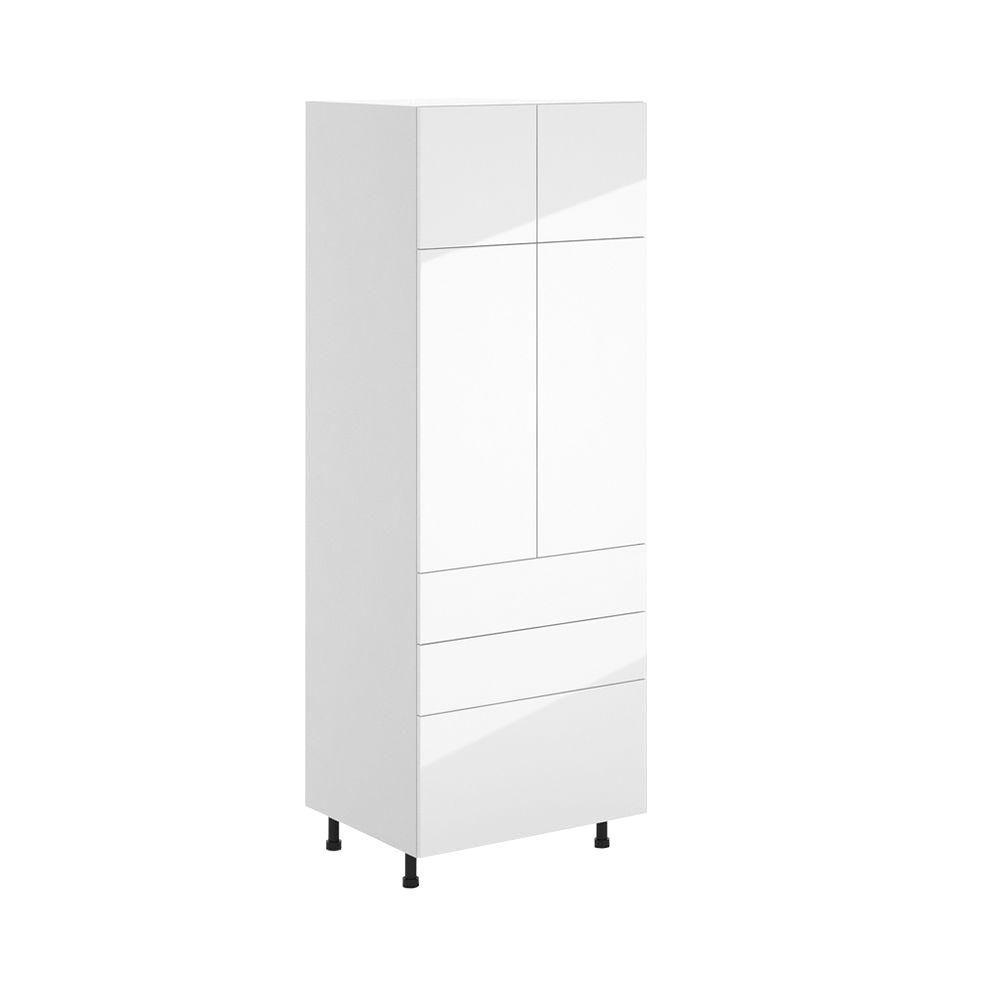 Charmant Eurostyle Valencia Ready To Assemble 30.25 X 83.625 X 24.375 In. Pantry/Utility  Pantry