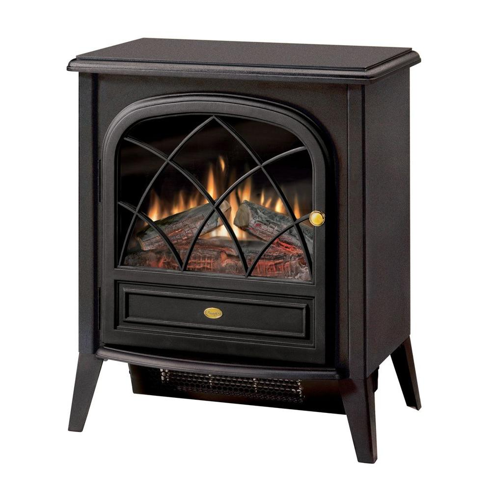 Dimplex 400 sq. ft. 20 in. Freestanding Compact Electric Stove in Matte Black