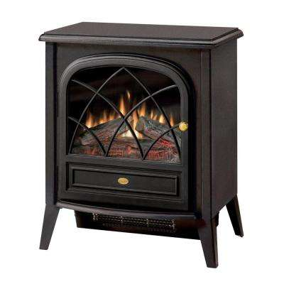 400 sq. ft. 20 in. Freestanding Compact Electric Stove in Matte Black