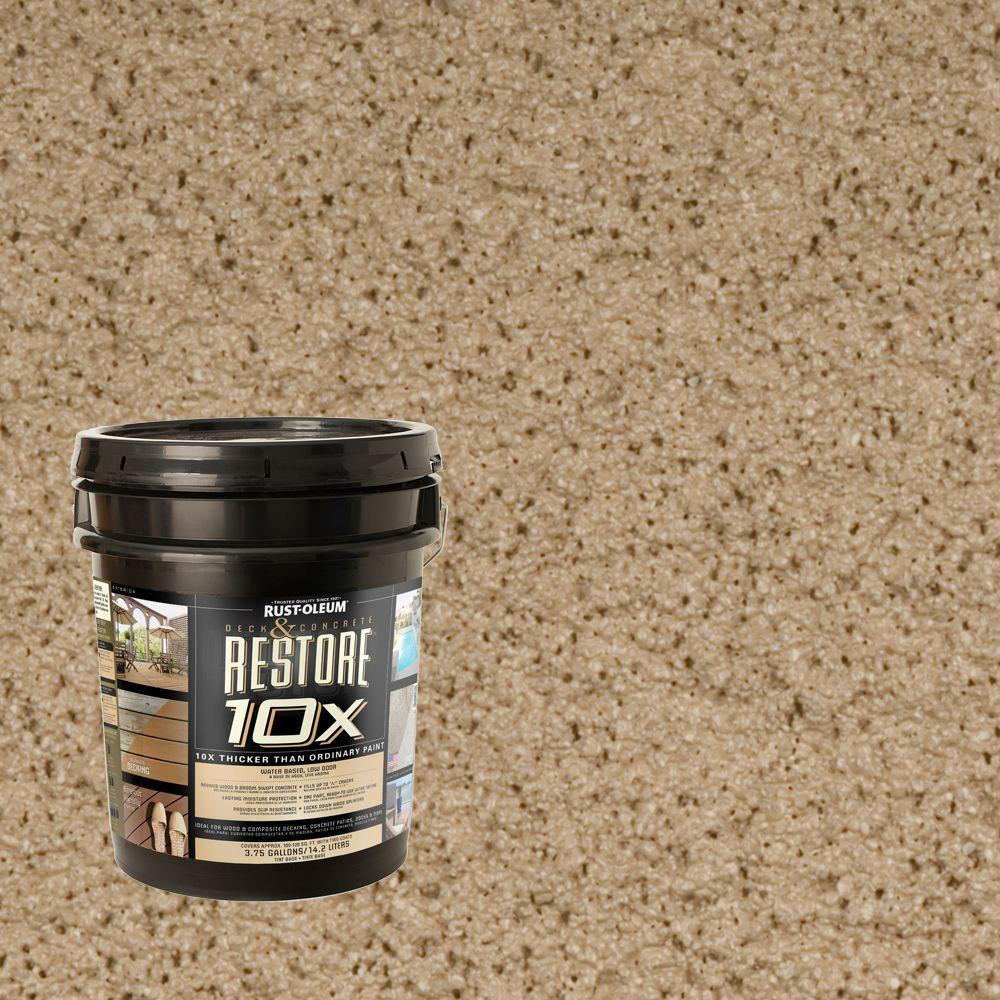 Rust-Oleum Restore 4-gal. Taupe Deck and Concrete 10X Resurfacer