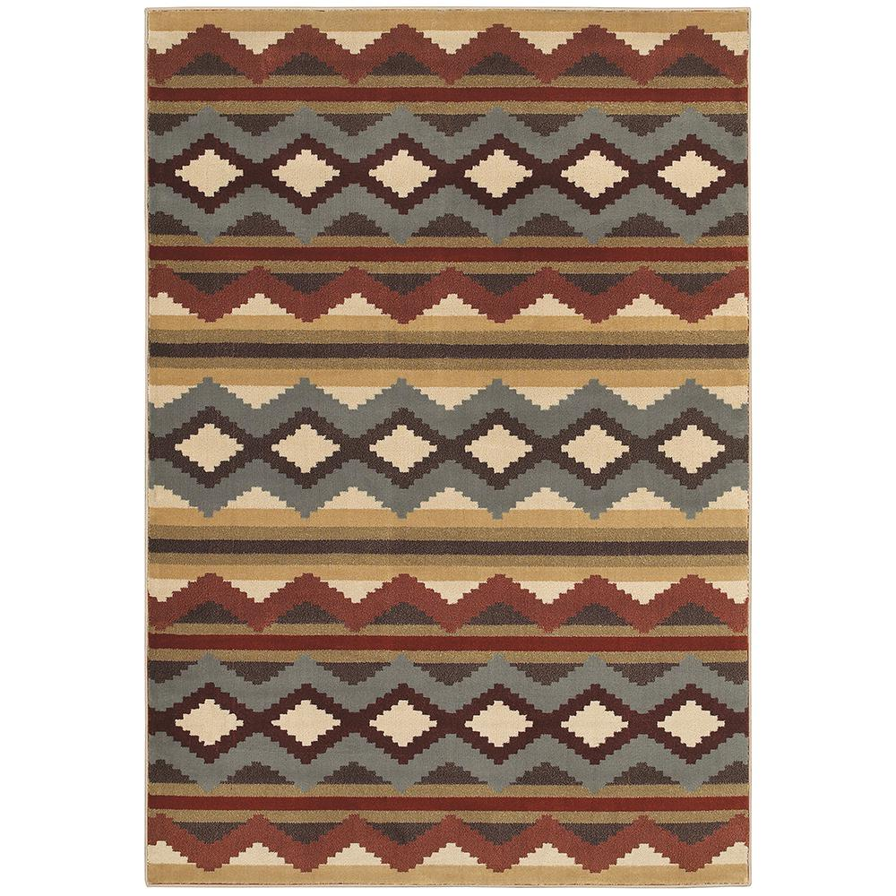 Chalet Multi 5 Ft X 8 Area Rug