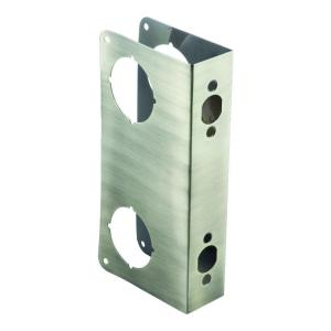 2-3/4 in. x 1-3/4 in. Stainless  sc 1 st  The Home Depot & StrikeMaster II Door Frame and Hinge Reinforcement-55724 - The Home ...