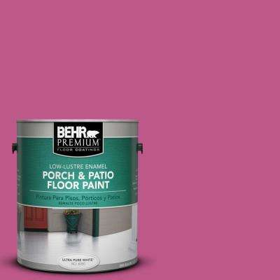 1 gal. #P120-5 Beauty Queen Low-Lustre Porch and Patio Floor Paint