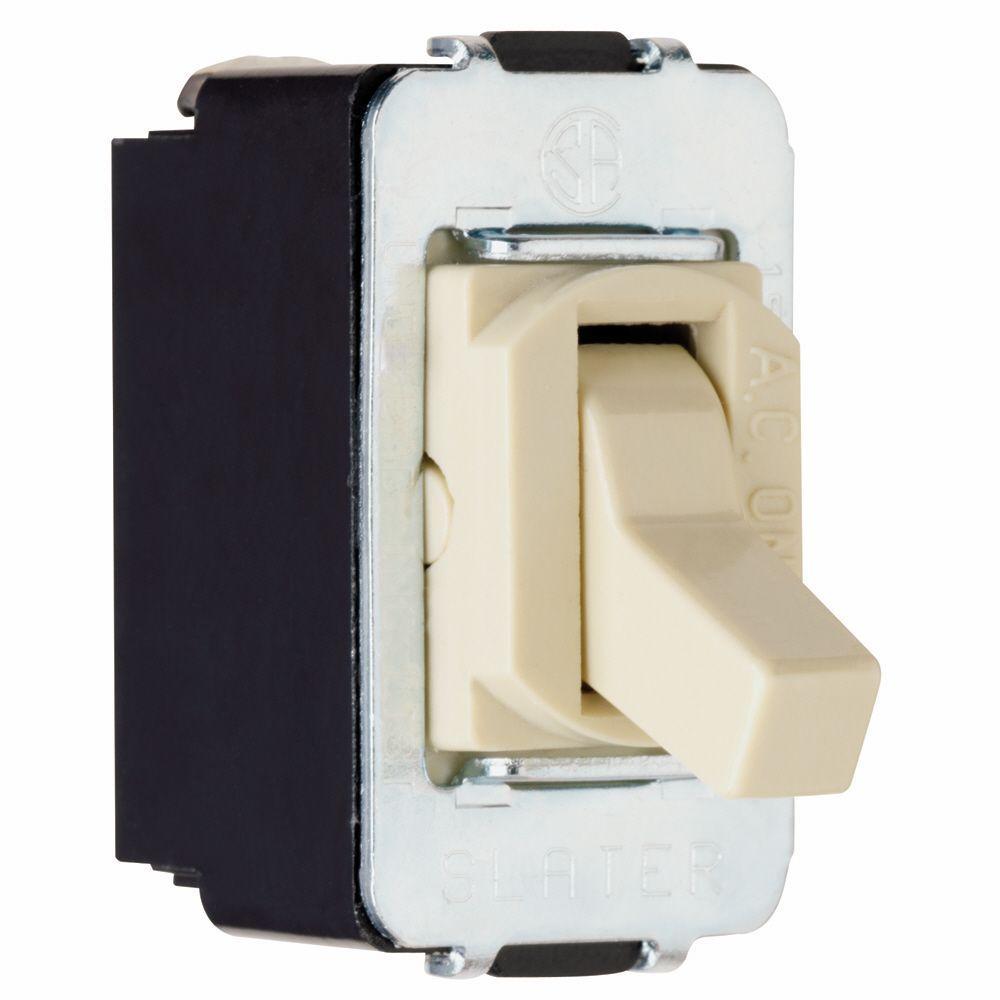 Despard 15 Amp 3 Way Toggle Switch - Ivory