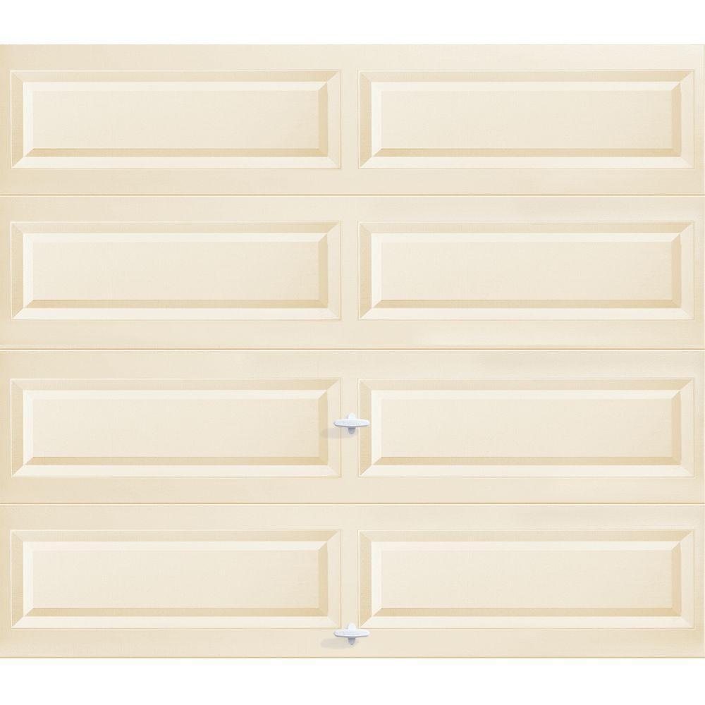 Clopay 8 ft. x 7 ft. Almond Long Panel Garage Door