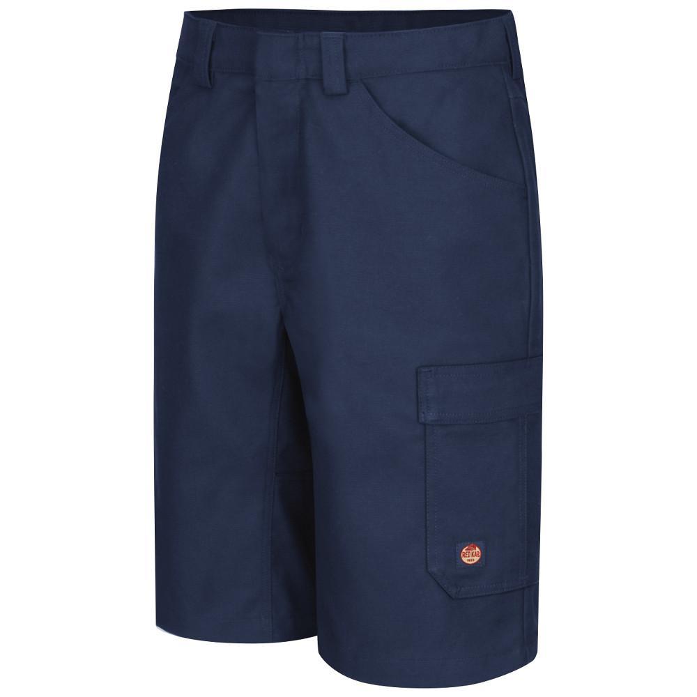 Men's 38 in. x 13 in. Navy Shop Short