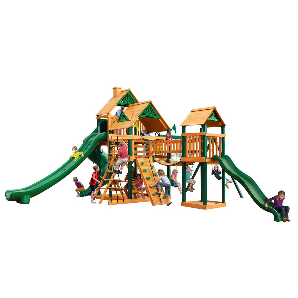 Gorilla Playsets Treasure Trove II Cedar Swing