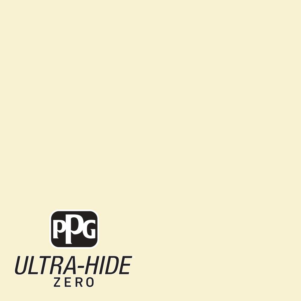 5 gal. #HDPY30 Ultra-Hide Zero Candlelight Yellow Flat Interior Paint