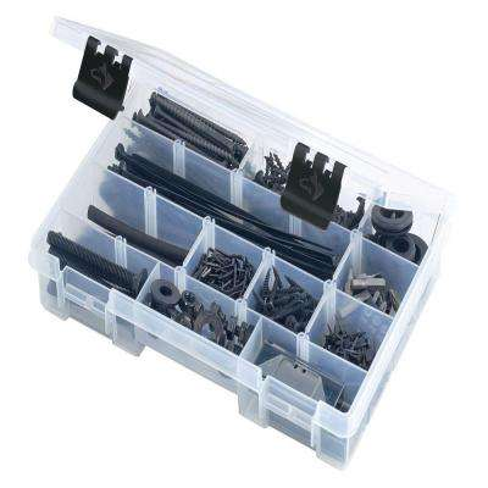 11 in. Small Parts Bin Organizer