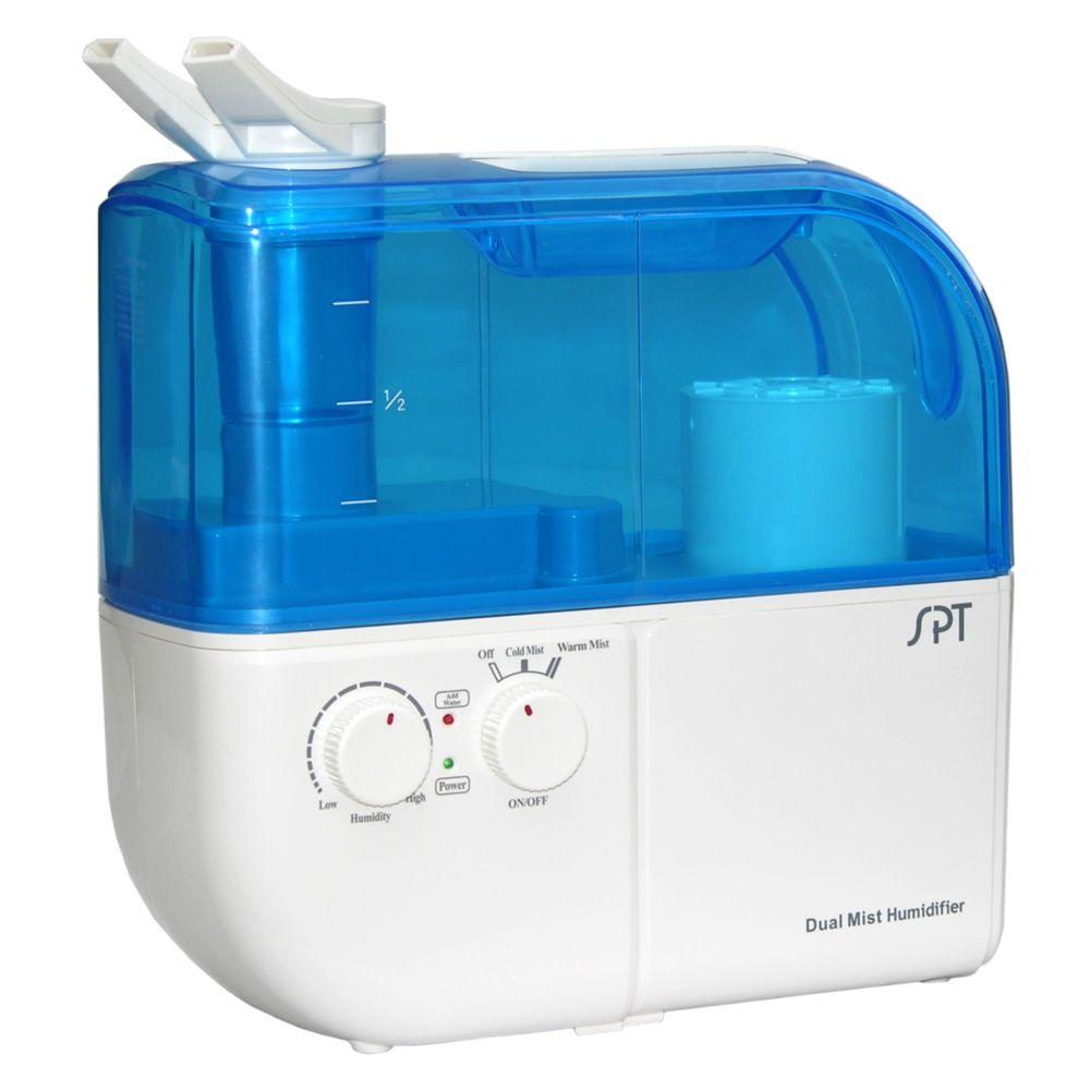 SPT Dual-Mist (Warm/Cool) Ultrasonic Humidifier-SU-4010 - The Home Depot