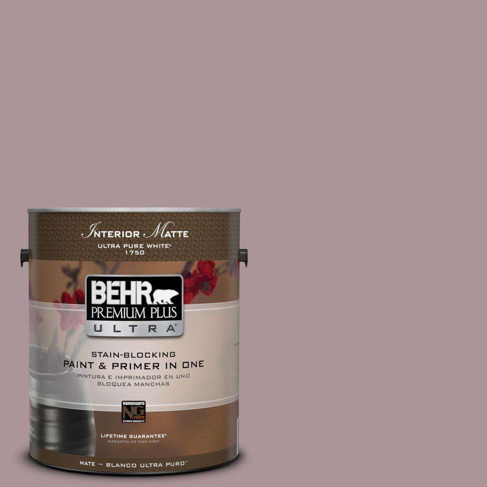 BEHR Premium Plus Ultra 1 gal. #ICC-64 Heirloom Quilt Flat/Matte Interior Paint