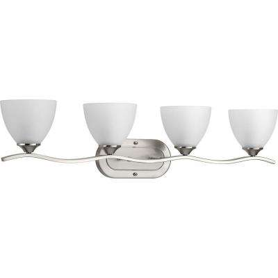 Laird Collection 4-Light Brushed Nickel Bath Light