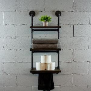 Os Home And Office Furniture Black Steel Industrial Pipe