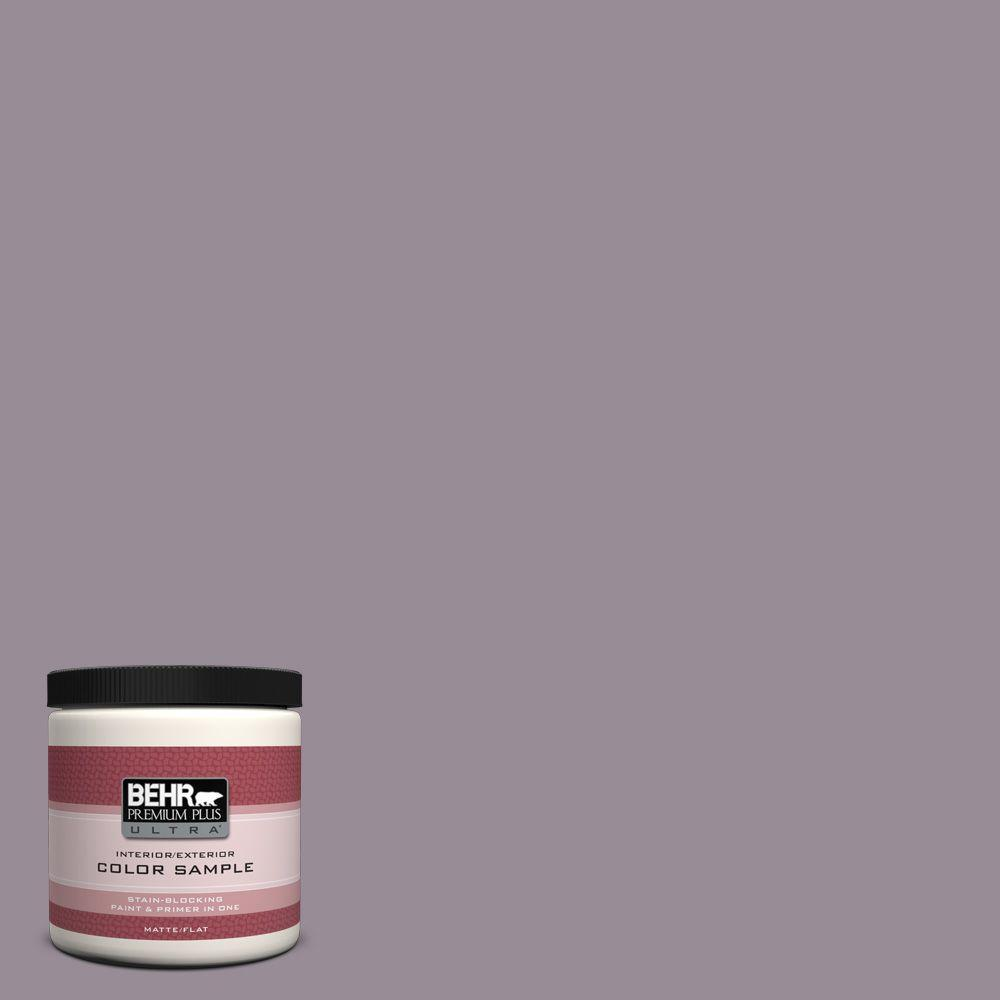 BEHR Premium Plus Ultra 8 oz. #UL250-18 Victorian Interior/Exterior Paint Sample